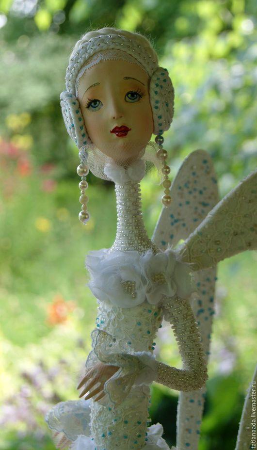 Кукла Ангел. Татьяна Адаменко. Кукла талисман.Кукла оберег.Городские ангелы.  Кукла-девочка.Ангел-девочка.Купить куклу- ангела.Белый Ангел-кукла.Коллекционная кукла.