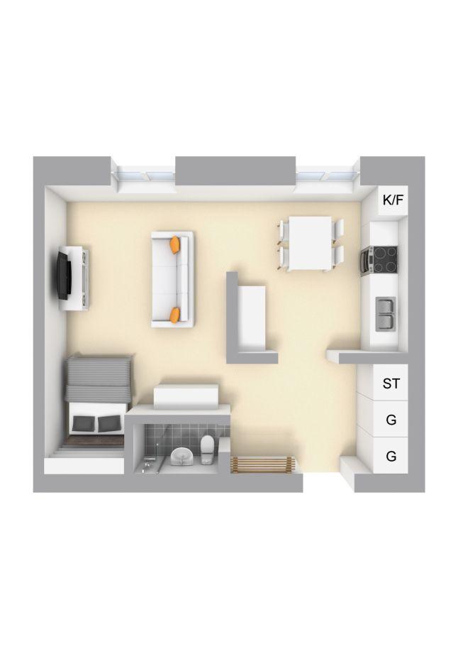 pin de samantha torres en apartamento pinterest planos departamentos y casas peque as. Black Bedroom Furniture Sets. Home Design Ideas