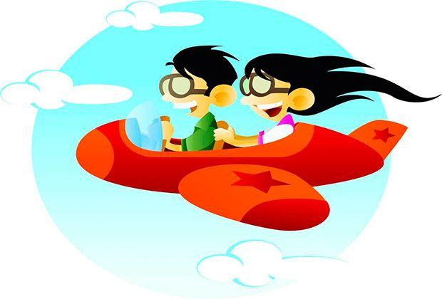 Viajar en #avión con un #bebé