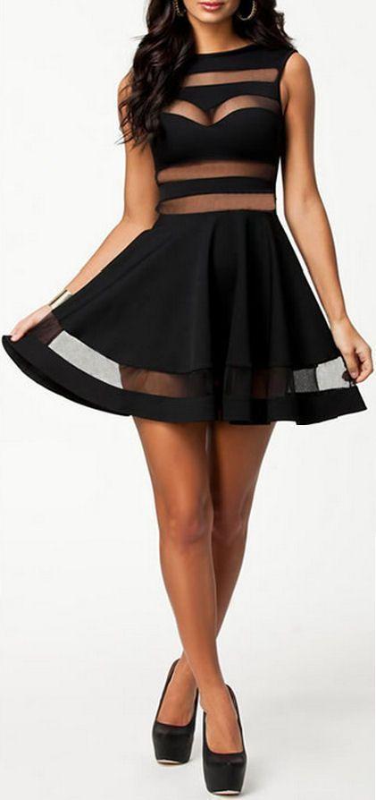 Little Black Club Dress // #lbd