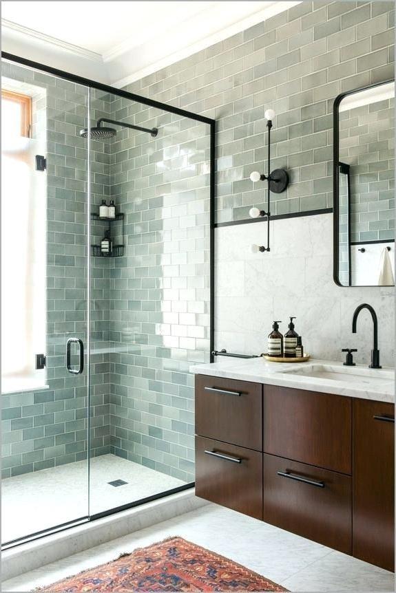 sea glass tiles bathroom green glass