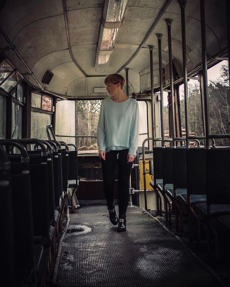 Model: Marie Location: alte Straßenbahn . #traintonowhere #rottenplaces #lostplaces #lostplacesgermany #abandoned #abandonedplaces #abandonedphotography #urbex #urbexpeople #urbexplaces #clouds #metro #straßenbahn #vsco #vscocam #creepy #cuxhaven #bremerhaven #bremervörde #hamburg #bremerhaven...