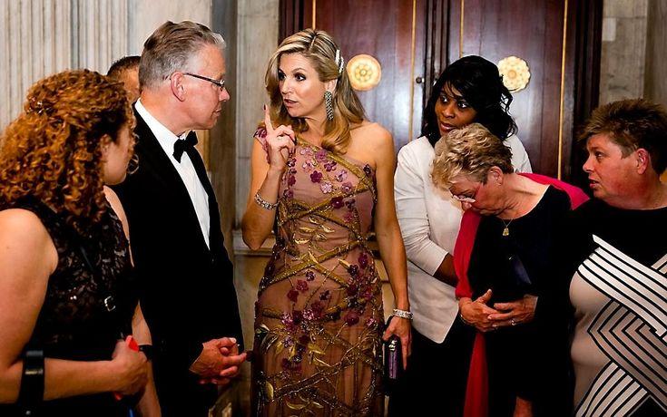 King Willem-Alexander's 50th Birthday Celebrations – Dinner April 28, 2017