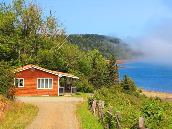Cottages on St. Mary's Bay, Nova Scotia. Amazing location. For more info: http://www.digbyneck.com
