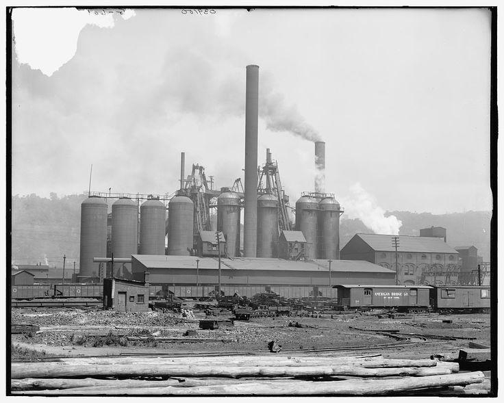 Andrew Carnegie owned most US steel mills before selling to J.P. Morgan. Steel was vital for Americas growing economy.