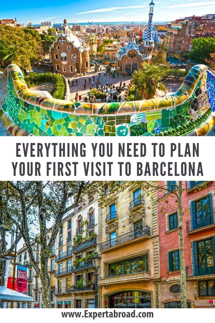 If You Are Planning To Visit Barcelona For The First Time You Are In The Right Place We Have Been A Fe Spain Travel Travel Destinations European Europe Travel