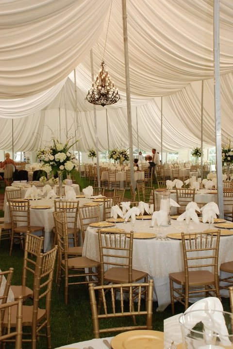 Beautiful Wedding Tent done by Artents!