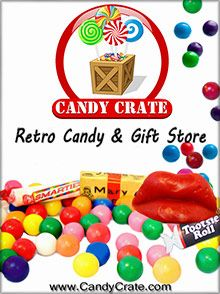 Candy Crate Top candy from every decade in every flavor, from your favorite online candy shop