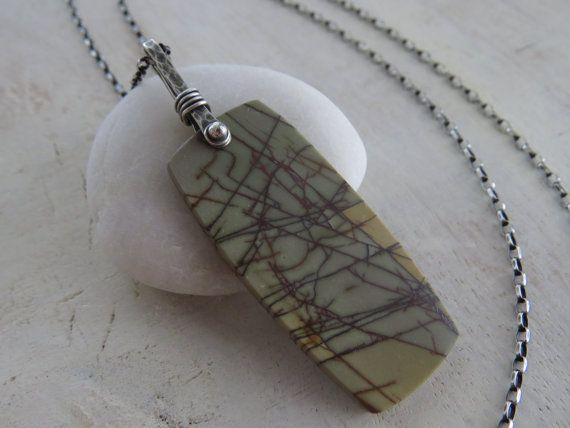Hey, I found this really awesome Etsy listing at https://www.etsy.com/listing/274645366/red-creek-jasper-pendant-oxidized