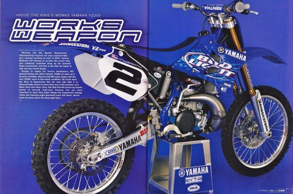 2002 MC YZ250   Tony Blazier     Motocross / Supercross