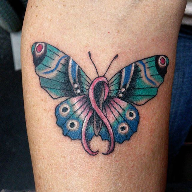 62 best tattoos images on pinterest tattoo ideas for Butterfly breast tattoos