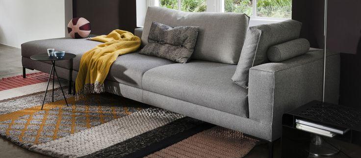 Aikon Lounge 1-arm en poef design Marike Andeweg voor Design on Stock