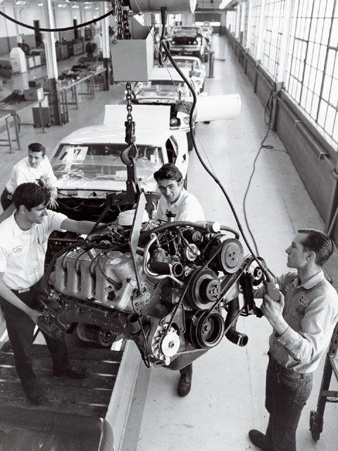 Building BOSS 429 Mustangs