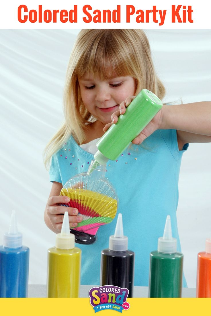 Learn about everything you need for your colored sand party kit! These are great for school parties, summer camp, VBS, block parties and more!