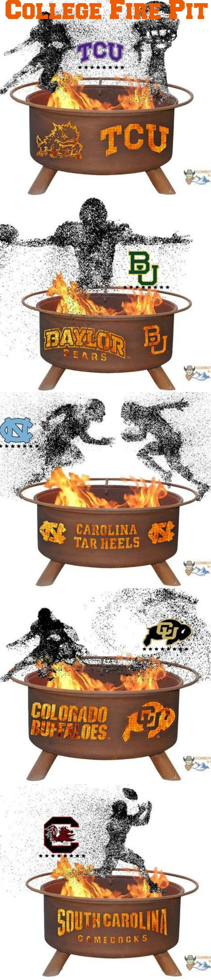 Collegiate Fire Pit Tailgate Show Your Pride and Entertain your Friends with the Wake Forest University Fire Pit! – College Fire Pit