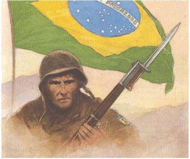 As cinzas dos 451 oficiais e praças mortos no conflito, entre eles oito pilotos da Força Aérea Brasileira (FAB) foram transladados do cemitério de Pistóia, na Itália, para o Brasil, em 5 de outubro de 1960, e hoje repousam no monumento aos mortos da II Guerra Mundial, no Rio de Janeiro.