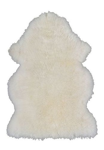 Ikea - white sheepskin rug