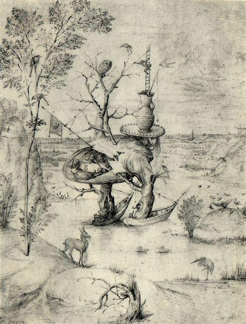 Hieronymus Bosch, Man Tree