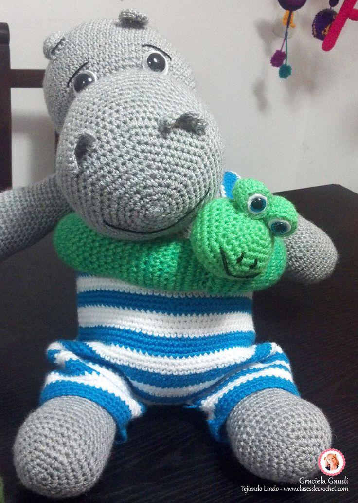 #Diy #Amigurumis #crochet Hipo de vacaciones