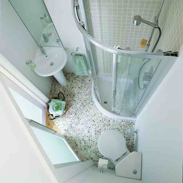 Image result for small bathroom ideas to make use of space