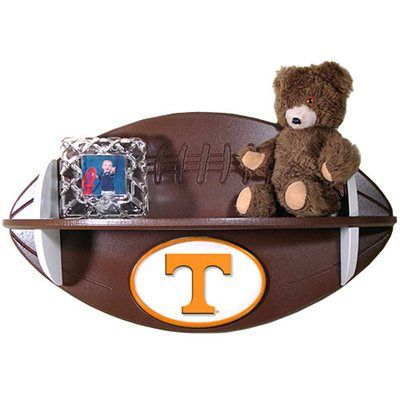 Tennessee Volunteers Football Shelf @Julie Forrest Read your boys need a couple of these!!