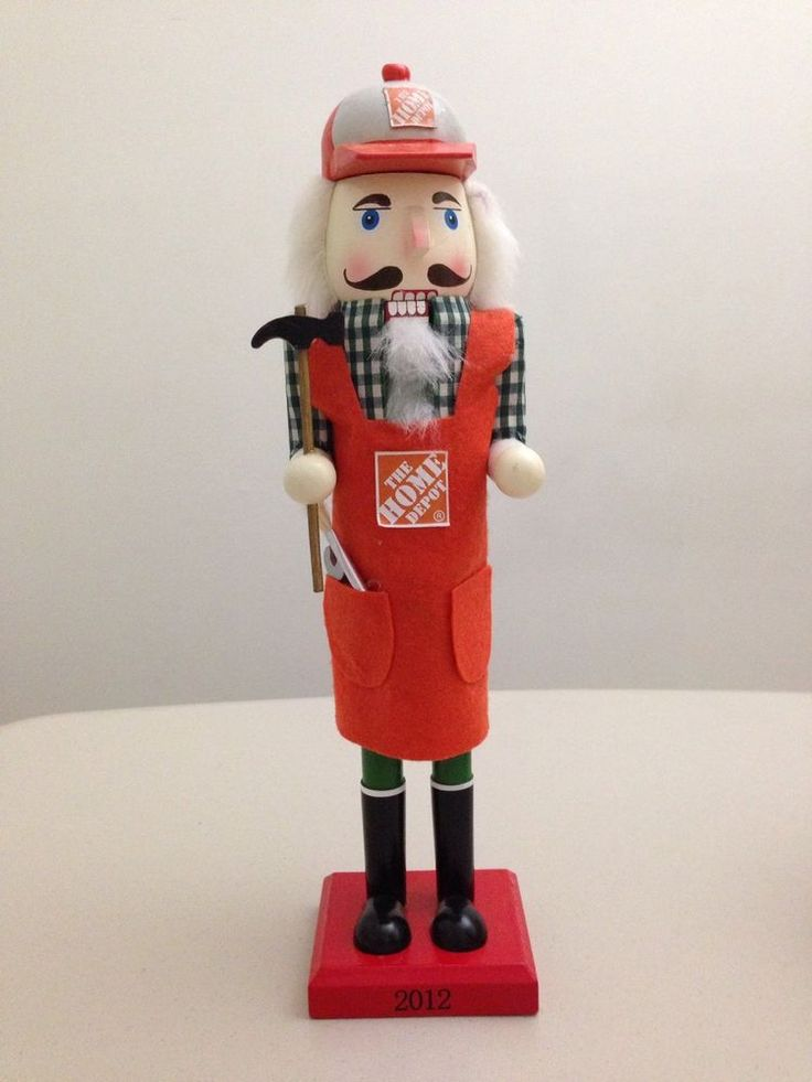 Home Depot Nutcracker for Christmas Collection 2012 For Sale On Ebay!