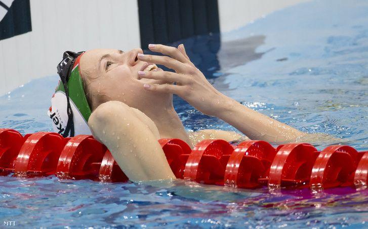 Kapás tökéletes úszással nyerte negyedik aranyát. Kapás Boglárka az egész Eb egyik legsikeresebb versenyzője lett, a 800 az 1500 és 4x200-as gyorsváltó aranya után a 400-at is behúzta. London 2016