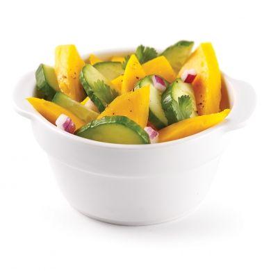 Salade de mangues et concombre - Recettes - Cuisine et nutrition - Pratico Pratique