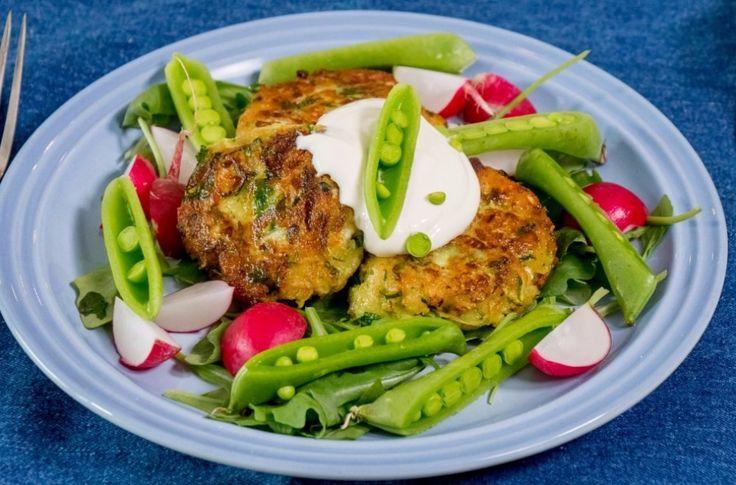 Oppskrift på vegetarbiffer med squash