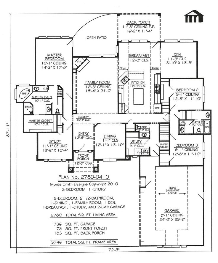 80 best House Plans images on Pinterest | Arquitetura, House ...