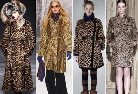 Модные плащи с леопардовым принтом