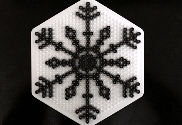 Snowflake hama perler beads - Crafts & DIY – Tuts+
