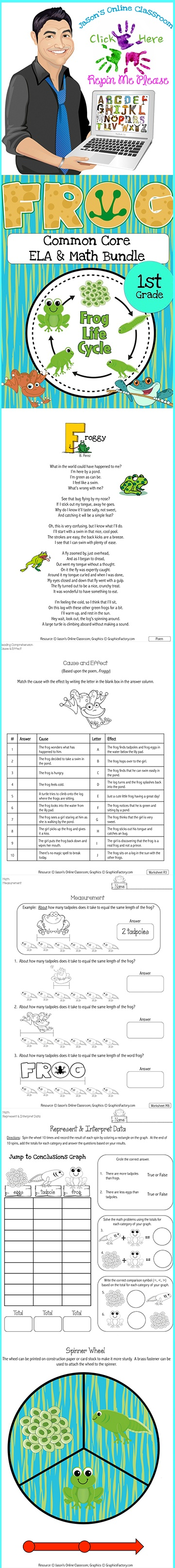 17 Best Images About Frog Life Cycle Unit On Pinterest Pocket Charts Life Cycles And Spring