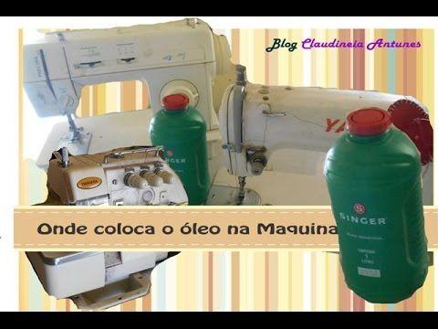 Vídeo onde colocar o óleo da sua maquina de costura #overloque #reta #maquinaindustrial