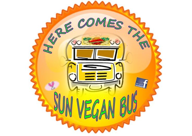 Here Comes the Sun Vegan Bus