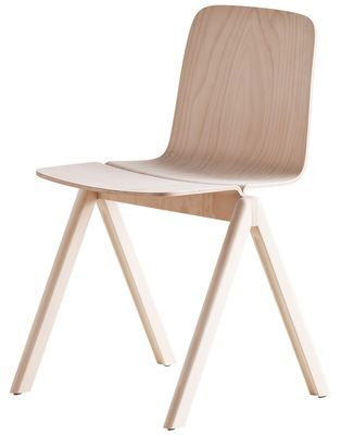 Chaise empilable Copenhague / Bois Hêtre - Hay - Made in design - 258 euros