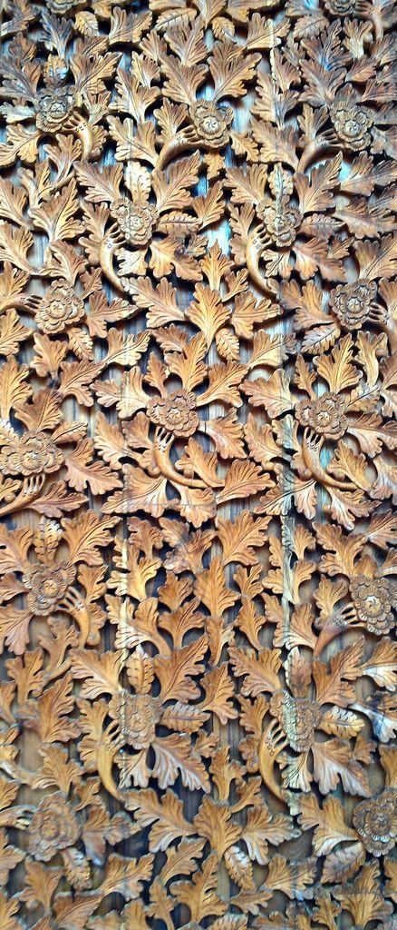 Bohemian Vintage- carved wood