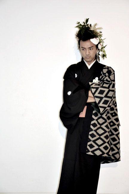 Ignore the hair, that kimono is bitchin'