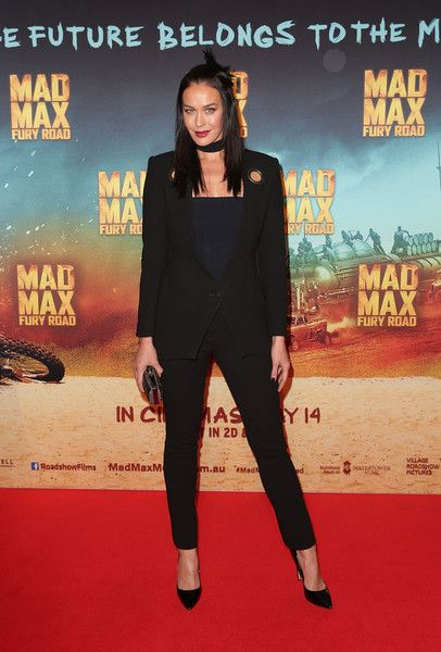Megan Gale at the premiere of Mad Max: Fury Road in Sydney.
