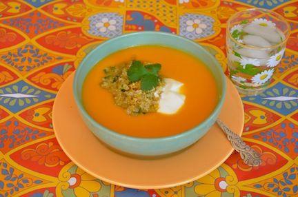 Silky Sweet Potato Miso Soup | Soups | Pinterest