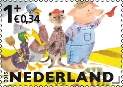 Kinderpostzegels 2015 - Postzegelvellen - Postzegelproducten
