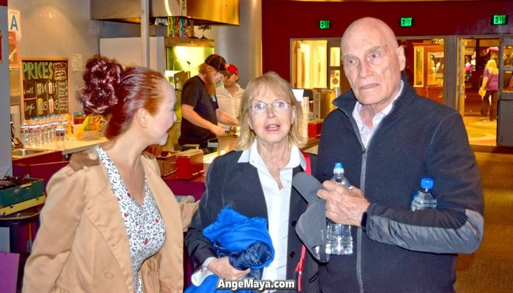 """#AngeMaya with #Oscar Nominated French director #BarbetSchroeder (#ReversalOfFortune , #Barfly) and his wife #BulleOgier at #americancinematheque screening. He Directed one Oscar winning performance: #JeremyIrons in Reversal of Fortune (1990), Founded """"Les Films du Losange"""" at the age of 23, producing some of the French Nouvelle Vague's most noted movies. http://lnk.al/4U0o  #AngeMaya, #ConsciousnessMovie, #Consciousness, #AgelessMovie, #Ageless, #AlternativeHealing, #ConsciousnessEvolution…"""
