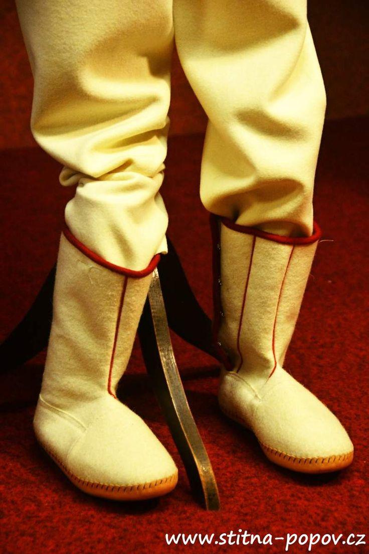 Štítná - rekonstrukce - papuče mužské