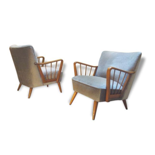 Les 25 meilleures id es concernant fauteuil ann e 50 sur pinterest fauteuil - Le bon coin fauteuil vintage ...