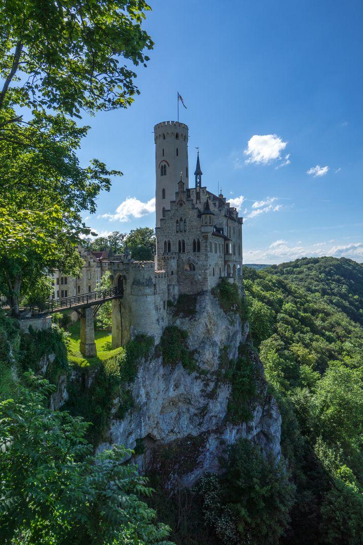 Lichtenstein Castle, actually near Stuttgart Germany.  Link to other day trips from Stuttgart