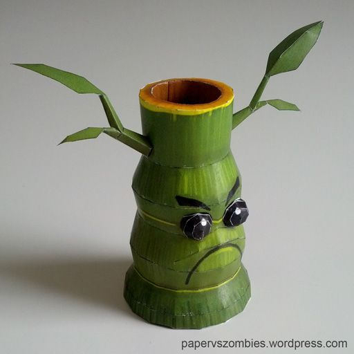 Plants Vs Zombies Bamboo Shooter