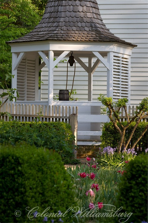 gazebo with shutters to control the light