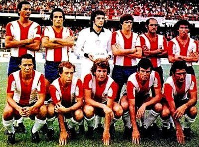 Equipos de fútbol: JUNIOR DE BARRANQUILLA Campeón de Colombia 1977