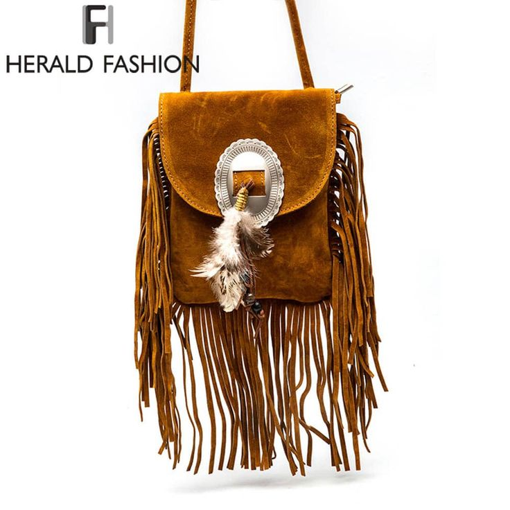 Women's Leather Fashion Fringe Tassel Styled Shoulder Bag //Price: $17.95 & FREE Shipping //     #stylish