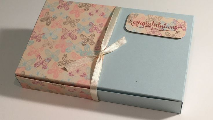 Falling in Love Wrapped Large Gift Box - Video Tutorial with Stampin' Up...